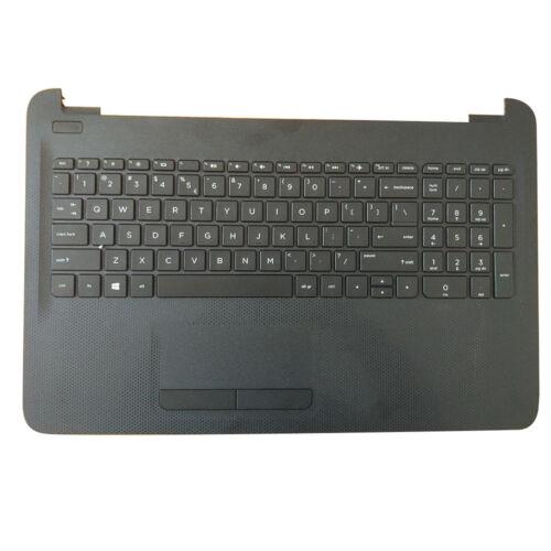 NEW HP 15-AC 15AC 15-AF Palmrest Keyboard Upper Case W Touchpad Black 813974-001