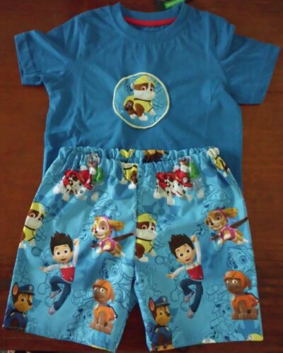 SCOOBY DOO COTTON SHORTS /& T SHIRT SET  BRAND NEW 2 PIECE PAW PATROL SZ 3