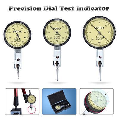 "0.001/""-1.0/"" Precision Dial Test Indicator Lever Gauge Scale Meter Measuring·UK"