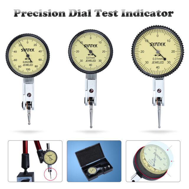 Clock Gauge TDC Precision Measuring DTI Guage 0.01mm Dial Test Indicator