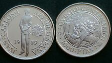 SPAIN / 1989 - 1000 PESETAS / SILVER COIN PROOF