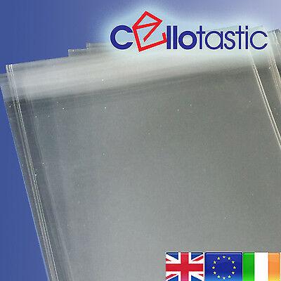 1000 DL 220mm x 115mm Clear Cellophane Greetings Card Peel /& Seal Display Bags