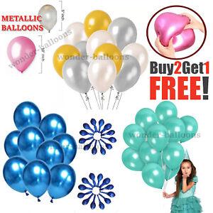 """10-100 10"""" 5"""" Pearl Metallic ballon ballons hélium ballon BirthdayPARTY Mariage"""