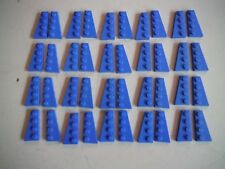 6 Right #41769 /& 6 Left #41770 New Lego Lot of 12 Black 4 x 2 Wedge Plate