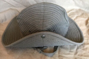 6f0963f9f2a38 French Army Olive Green Chapeau de Brousse Bush Hat Size 7 1 2 ...