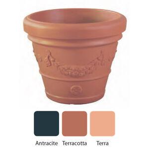 Vaso in resina fai da te festonato tondo tipico toscano for Resina fai da te