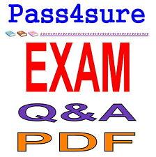 Pass4sure Microsoft Oracle Exin Cisco Exam PDF