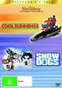 Cool-Runnings-Snow-Dogs-DVD-2-Discs-Region-4-Very-Good-Condition