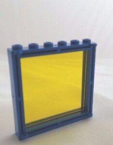 Custom TRANS YELLOW lego window glass fits 1x6x5 space 6970 6971 230 231 1x5x6