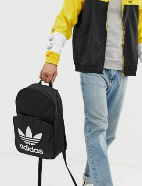 exclusive shoes amazing selection affordable price NEW ADIDAS ORIGINALS TREFOIL CLASSIC BACKPACK BAG #BK6723 BLACK