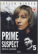 PRIME SUSPECT 5 - errors of judgement - DVD