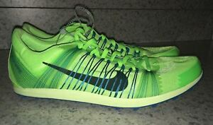 b7c4c612e72 NIKE Zoom Victory XC 2 Lime Green Cross Country Track Spikes Shoes ...