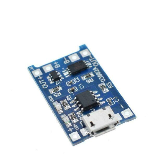 5V Micro USB 1A 18650 Lithium Battery Charging Board Charger Module+Protect A9H9
