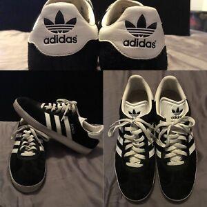 soborno la carretera casamentero  Adidas Gazelle 2 Zapatos de segunda generación Negro Blanco Talla 10 de  hombre talla 12 mujeres | eBay