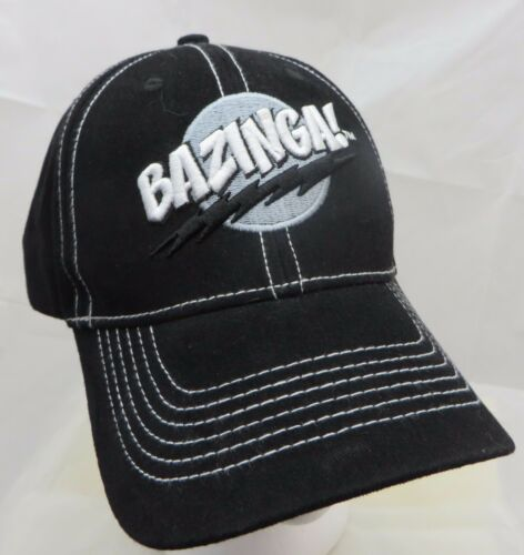 Bazinga Big Bang Theory baseball cap hat adjustabl