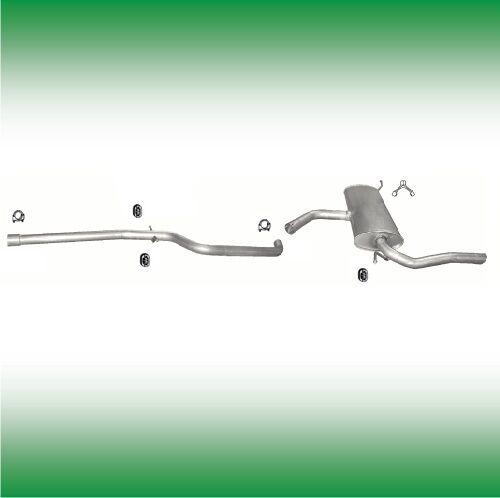 AUSPUFF SEAT ALTEA XL 1.6 TDi 90//105 PS 2009-2016 ABGASANLAGE AUSPUFFANLAGE 0730