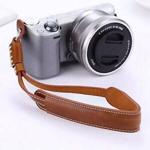 Leather-Hand-Grip-Wrist-Strap-Rope-For-Canon-Nikon-Sony-Leica-DC-Camera
