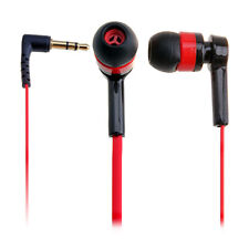 New  In-Ear Earphones Red Headphone Mini Earphone Cheap For iPod MP3 MP4 MP5