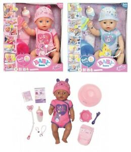 Zapf Baby Born Interactive Soft Touch Doll Toy Playset