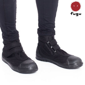 a52610f5604 Details about Black Fugu Sa-Ba Unisex Japanese Shoes & Boots. Perfect  Burning Man Shoes