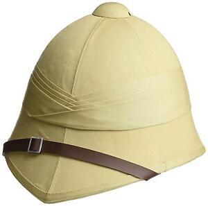 6aed3316fd06f BRITISH PITH HELMET sand military safari hat army reenactment Zulu ...