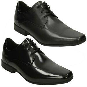 Image Is Loading Mens Clarks Leather Lace Up Smart Formal Office