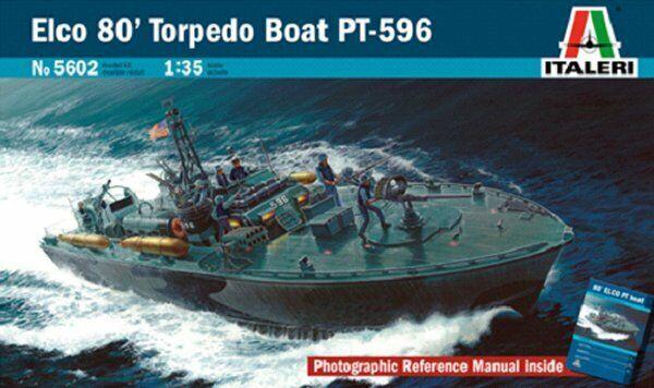 Italeri 1 35 Elco PT-596 Torpedo Boat