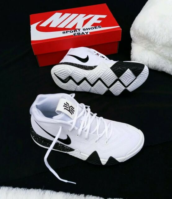 best service 24b4a 35762 Size 10 Men's Nike Kyrie 4 ID Basketball Ar3867 994 White Red Navy SNEAKERS