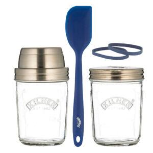 New Kilner Create and Make Sourdough Starter Set Glass 350ml
