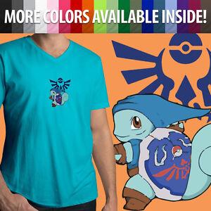 Mens-Women-Unisex-Tee-T-Shirt-Print-Gift-Shirts-Legend-of-Zelda-Game-Triforce