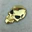 1pc-3D-Metal-Skeleton-Skull-Car-Motorcycle-Side-Trunk-Emblem-Badge-Decal-Sticker miniature 5