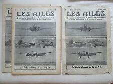 AILES 1938 903 KLM HOLLANDE KOOLHOVEN FK-58 FAIRCHILD FLEET 50-K AERONCA PLANEUR