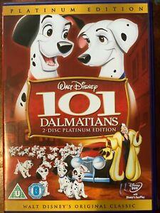 101 FIGURINE DVD 1961 WALT DISNEY 17th animato classico 2-disc PLATINUM ed.