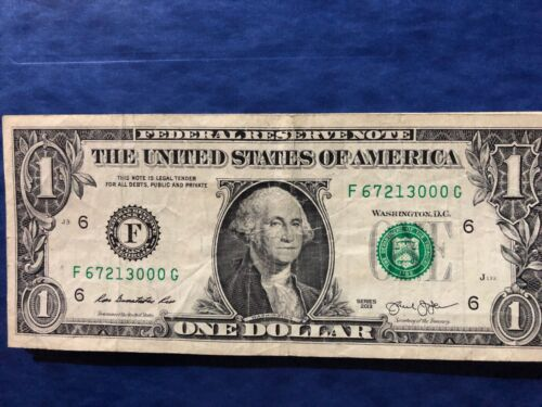 """TRAILING ZERO/'s /""""000/"""" in $1 Dollar Bill with FANCY UNIQUE SERIAL NUMBER NOTES"""