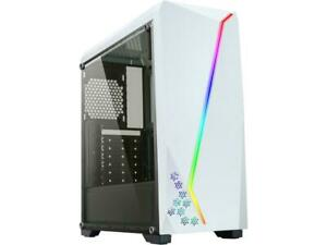DIYPC-S2-W-RGB-White-USB3-0-Steel-Tempered-Glass-ATX-Mid-Tower-Gaming-Computer