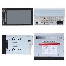 "2 DIN 6.2"" Car DVD Player Multimedia Bluetooth FM Radio USB/SD AUX Input K9W6"