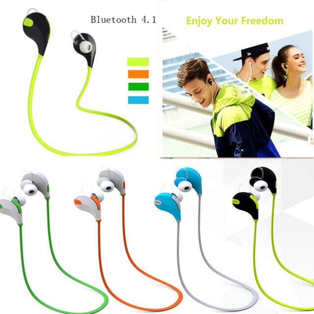 Bluetooth4.1 Wireless Headset Stereo Headphone Earphone Sport Universal Handfree