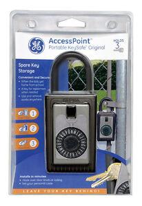 "Kidde Access Point Portable Key Safe Padlock ""Holds 3 Keys ..."