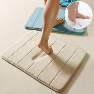 Memory-Foam-Bath-Bathroom-Bedroom-Floor-Shower-Mat-Rug-Non-slip-Absorbent-Soft