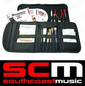 Hohner-Instant-Workshop-Harp-Maintenance-Toolkit-Pro-Harmonica-Tool-Kit-With-Dvd
