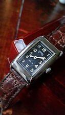 """Vintage Marley Hodgson """"Ghurka Pilot"""" Ltd Ed. Super Curved, Sterling Wristwatch."""