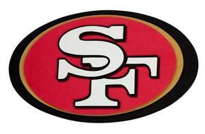 San-Francisco-49-ers-3D-Fan-Foam-Logo-Sign-Bild-NFL-Football-Relief-Wandlogo