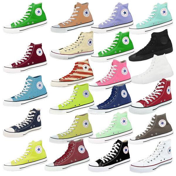 Converse Chuck Taylor All Star Hi clásico Basic zapatos clásico Hi cortos Chucks diverse 520b6f