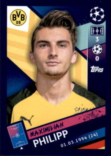 Topps Champions League 18//19 Maximilian Philipp Sticker 154