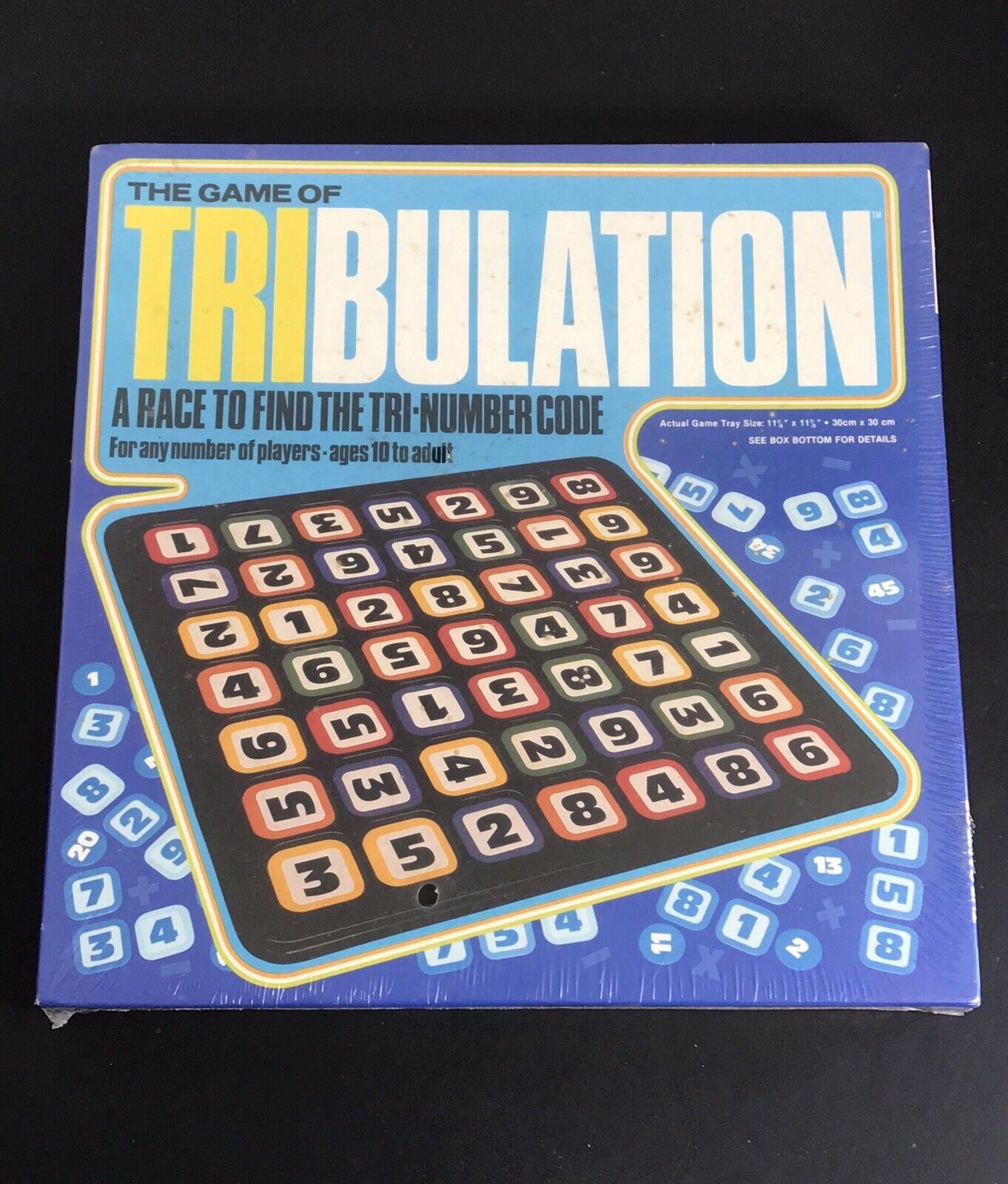 fino al 60% di sconto Vintage The gioco of Tribulation 1981 1981 1981 tavola gioco  spedizione gratuita in tutto il mondo