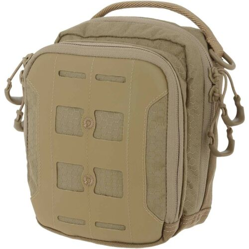 Maxpedition AGR Tactical Accordion Utility Pouch Hex Ripstop Military Pocket Tan