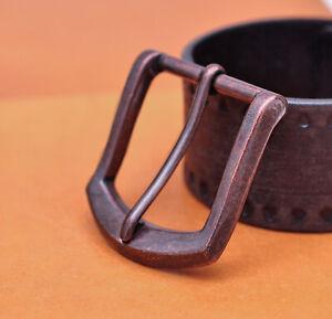 "Single Prong Square Pin Belt Buckle Waist silver metal Western 1 1//2/"" 38 mm"