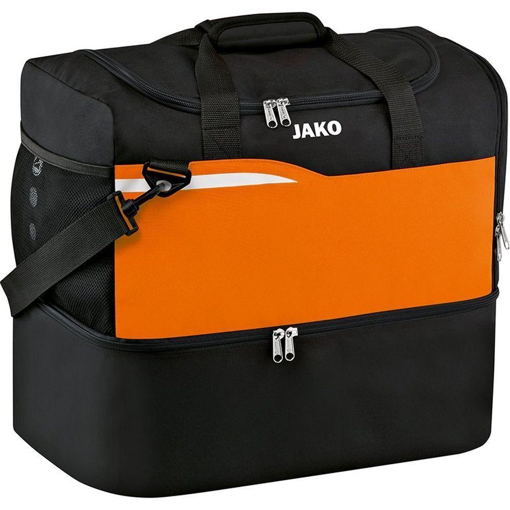 Jako Sporttasche Competition 2.0 mit Bodenfach Bodenfach Bodenfach Herren Kinder schwarz Orange 3f707c