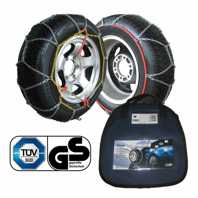 245//45 R17 SUMEX Husky Winter Classic Alloy Steel Snow Chains for 17 Car Wheel Tyres