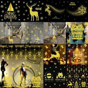 Xmas-Christmas-Wall-Stickers-Home-Window-Store-Party-Decorations-Removable-DIY
